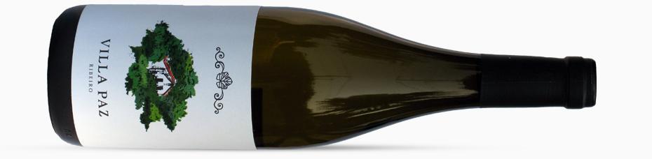 Botella de Vino Villa Paz